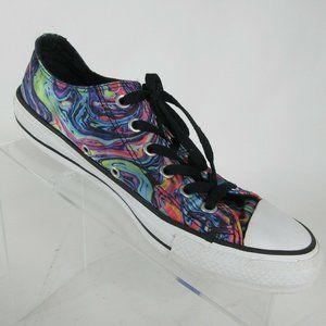 Converse Oil Slick Rainbow Basketball Shoes